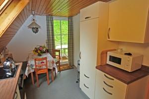 Ferienwohnung Fichte - Küche